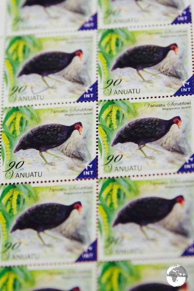 Vanuatu stamps are popular among philatelists.
