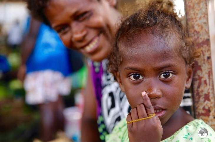 The real joy of travelling in the Solomon Islands is time spent with the friendly locals.