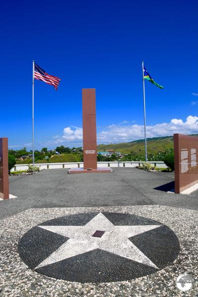 The Guadalcanal American Memorial in Honiara.