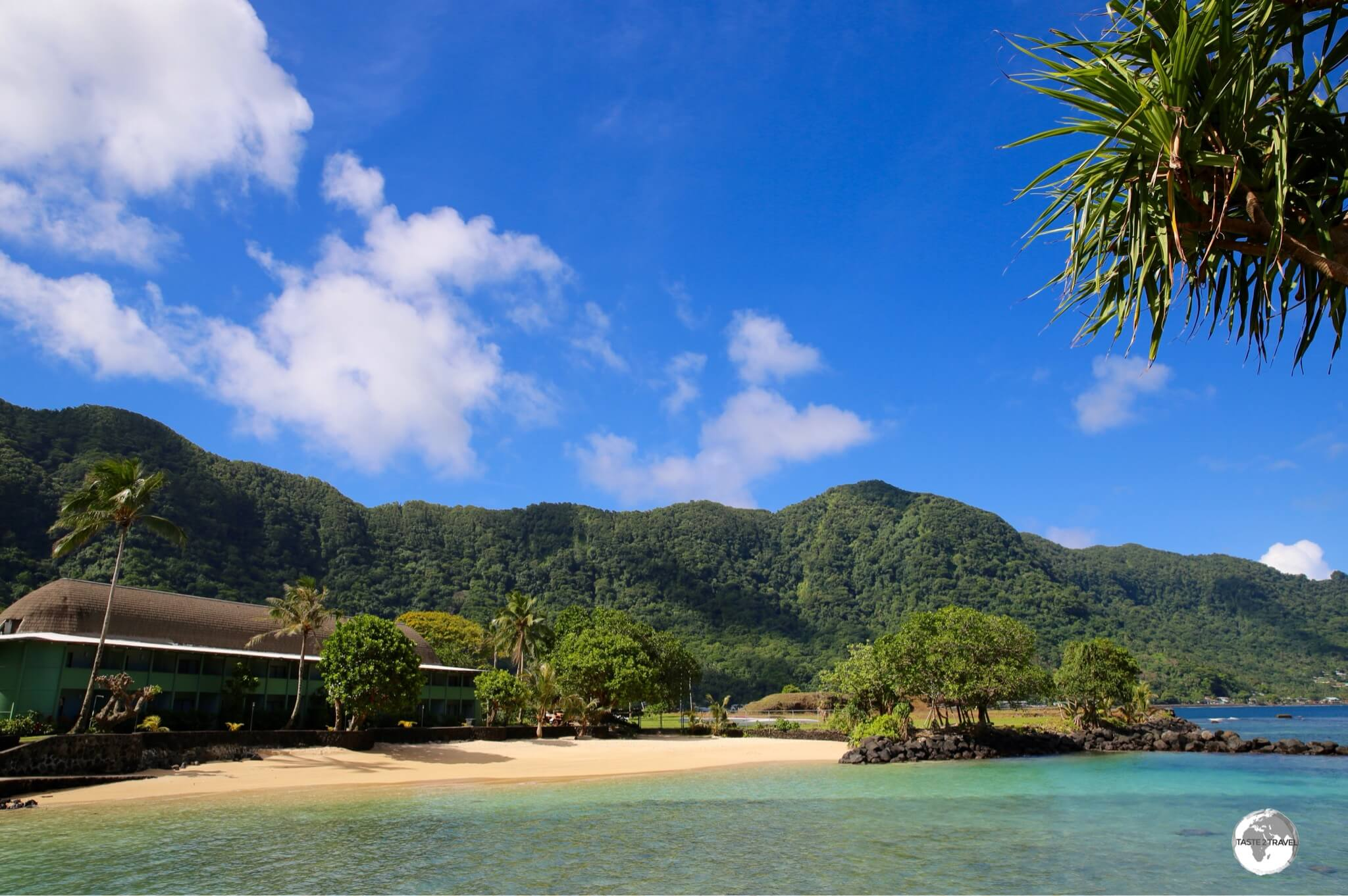 While in American Samoa, I stayed at 'Sadie's by the Sea'.