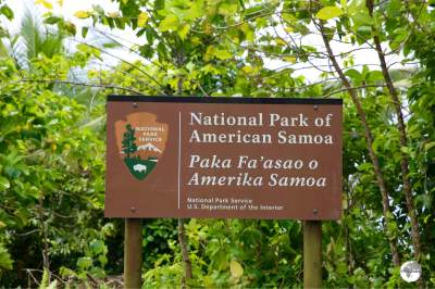 The National Park of American Samoa covers three of the islands of American Samoa.