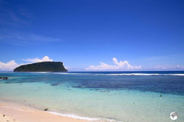 Lalomanu Beach.