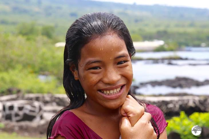 The Samoans will always greet you with a warm, friendly smile.
