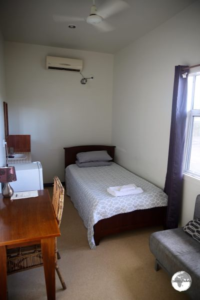 A 'budget' room at Talofa Inn.