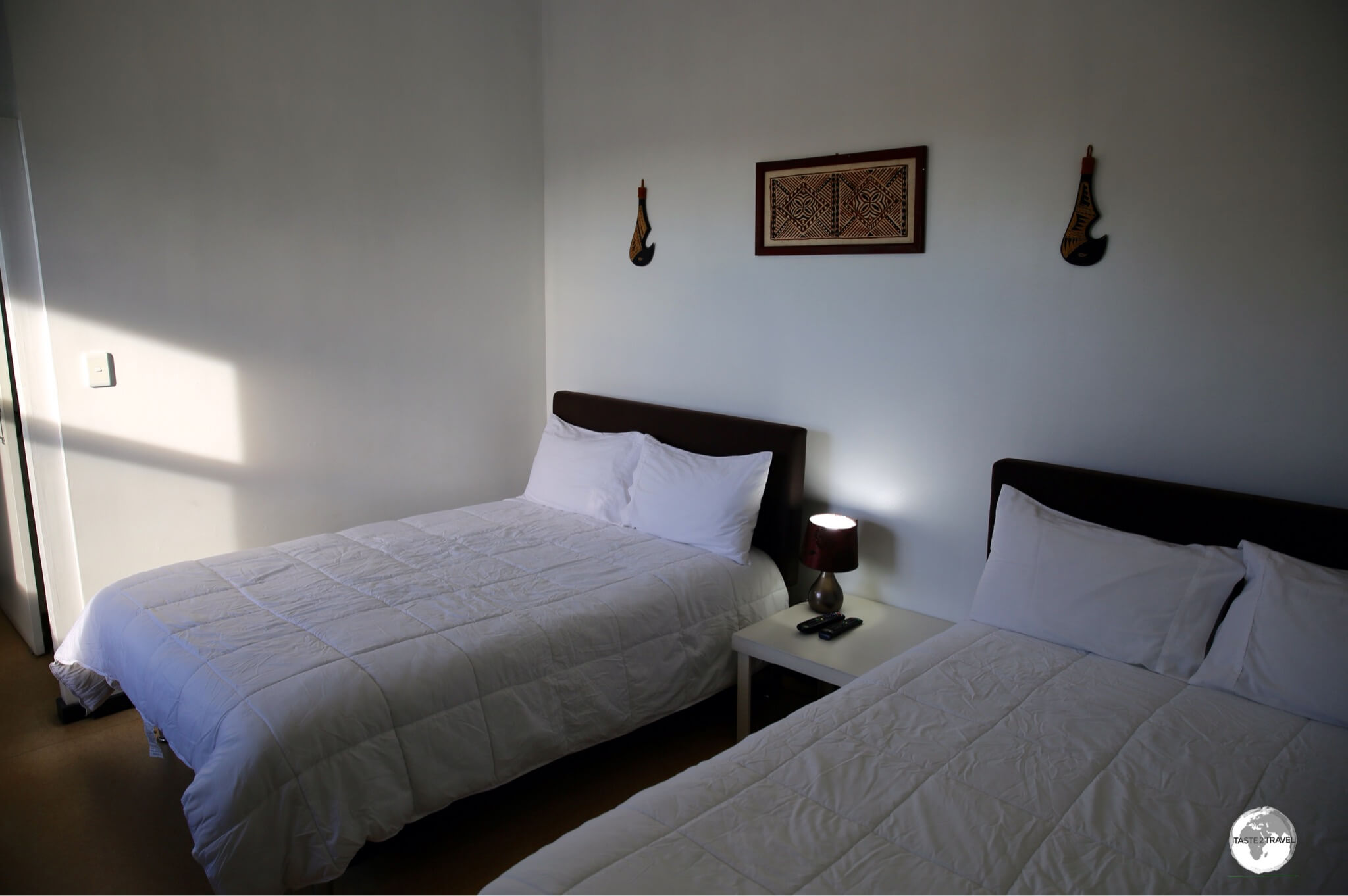 A deluxe room at Talofa Inn.