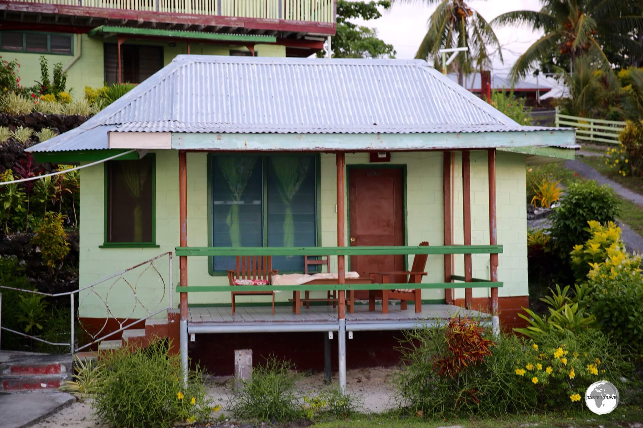 My cottage at Vaisala Beach Hotel has seen better days.