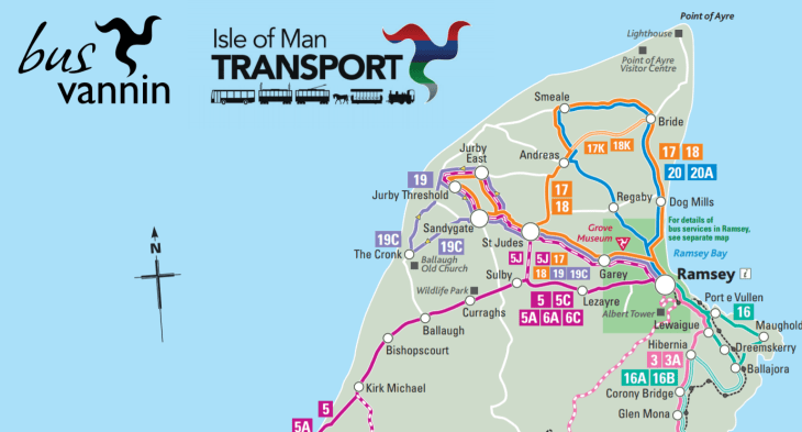 Isle of Man Bus Routes
