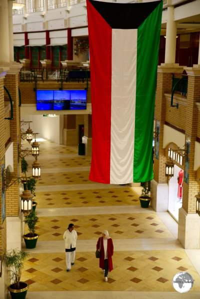 A quiet day at Souk Sharq, one of several shopping malls in Kuwait City.