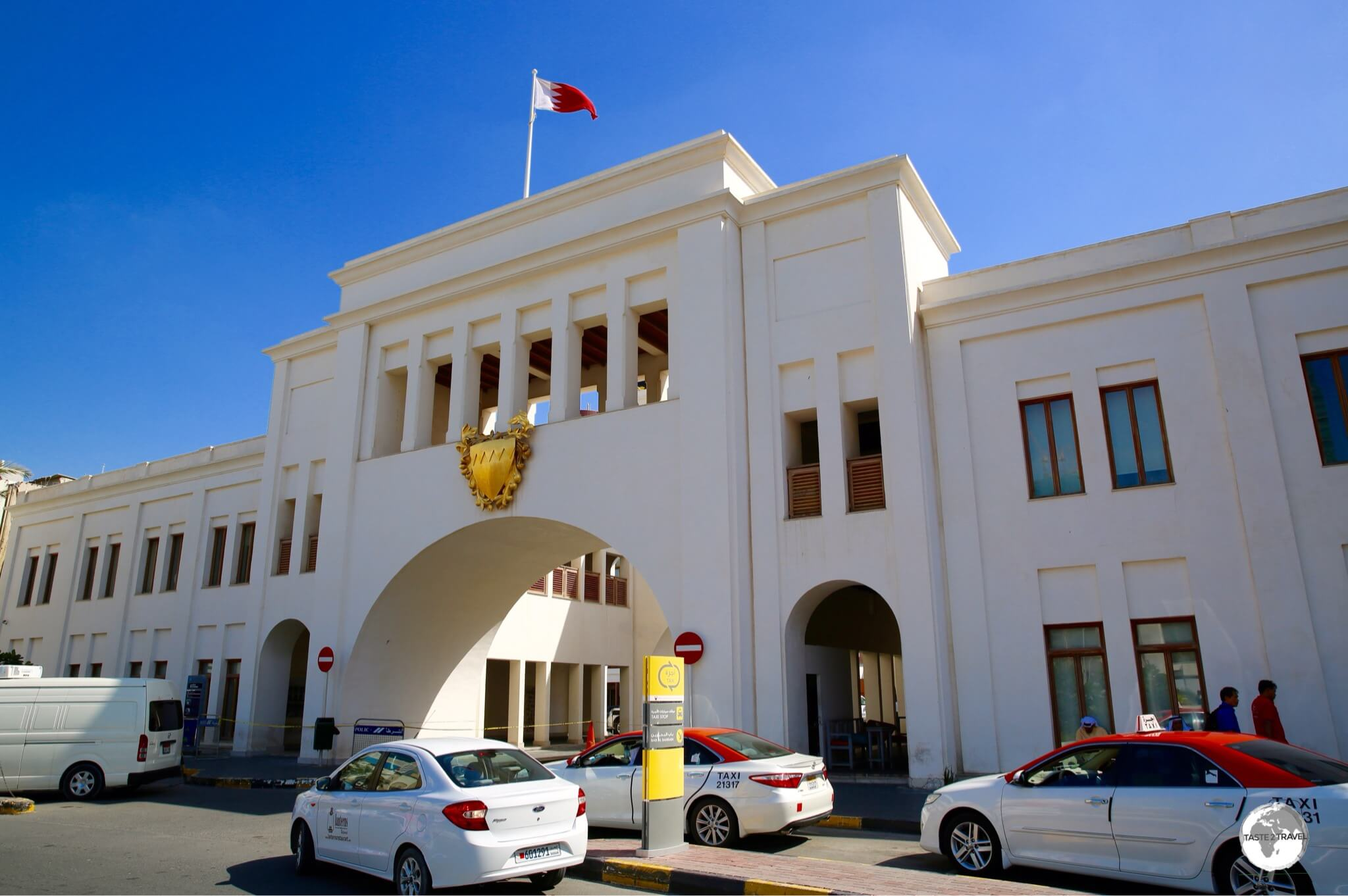All roads lead to Bab Al Bahrain, the heart of Manama old town.