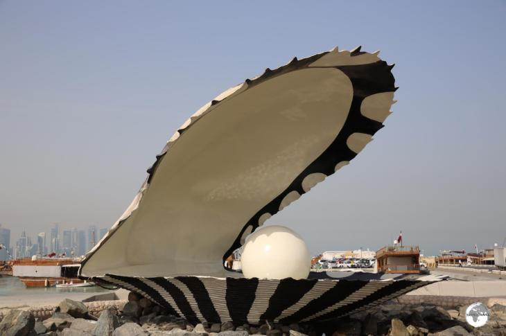 The giant Pearl on the Corniche pays homage to the days of Pearl Farming.