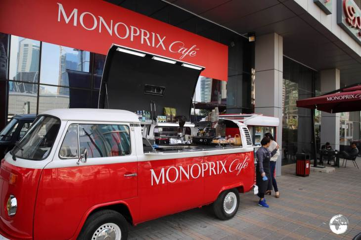 The Monoprix cafe offers the best value coffee in Doha City Centre.