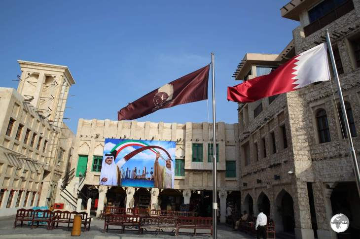 Souq Waqif is a shopping and dining hub in the heart of Doha old town.