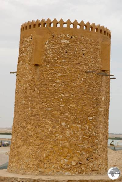 One of the historic Al Khor watchtowers.