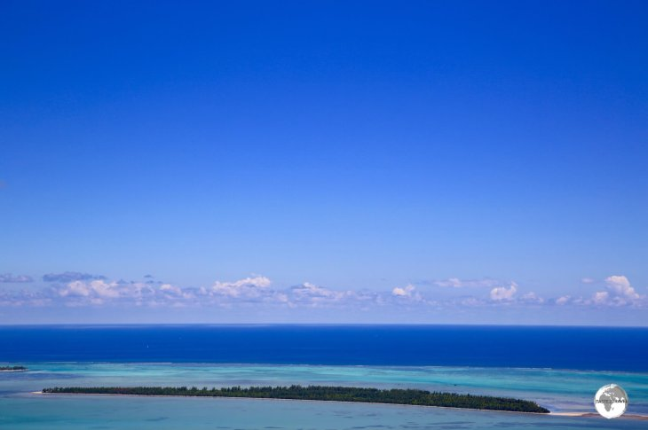Being a volcanic island, Mauritius is surrounded by a fringing coral reef.