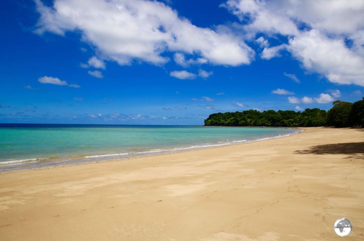 The finest beach on Mayotte, N'Gouja beach is a beautiful gold-sand beach set on a curved bay on the south coast.
