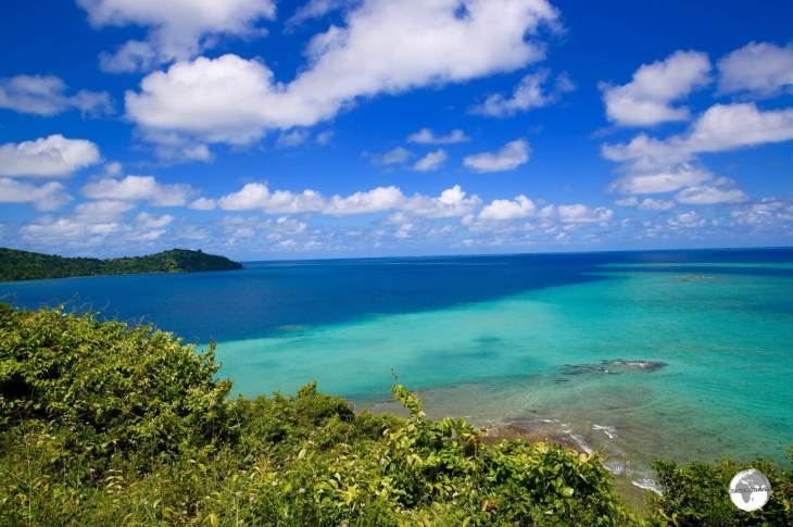 Mayotte lagoon is surrounded by a fringing reef, offering wonderful diving.