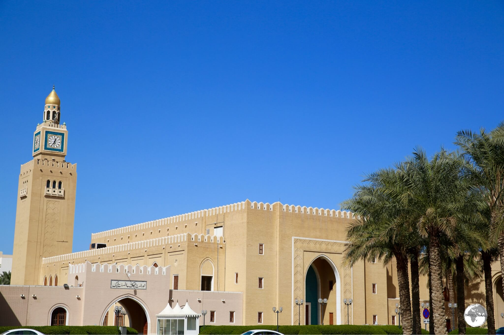 Located on the waterfront, historic Al Seif Palace is one very large,vacant palace.