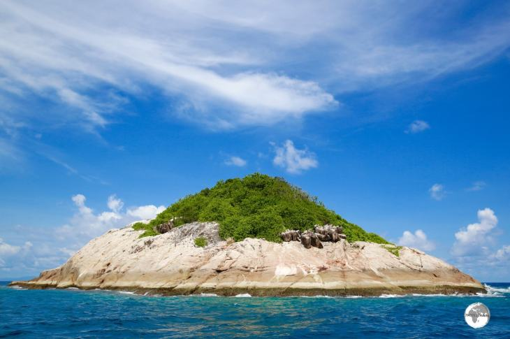 Booby Island gets its name from the numerous flocks of boobies who nest here.