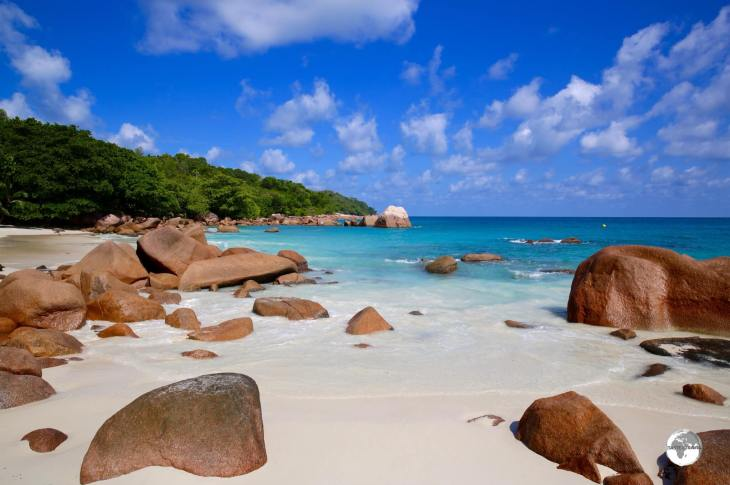 Located on Praslin island, Anse Lazio beach is sublimely beautiful in the early morning light.