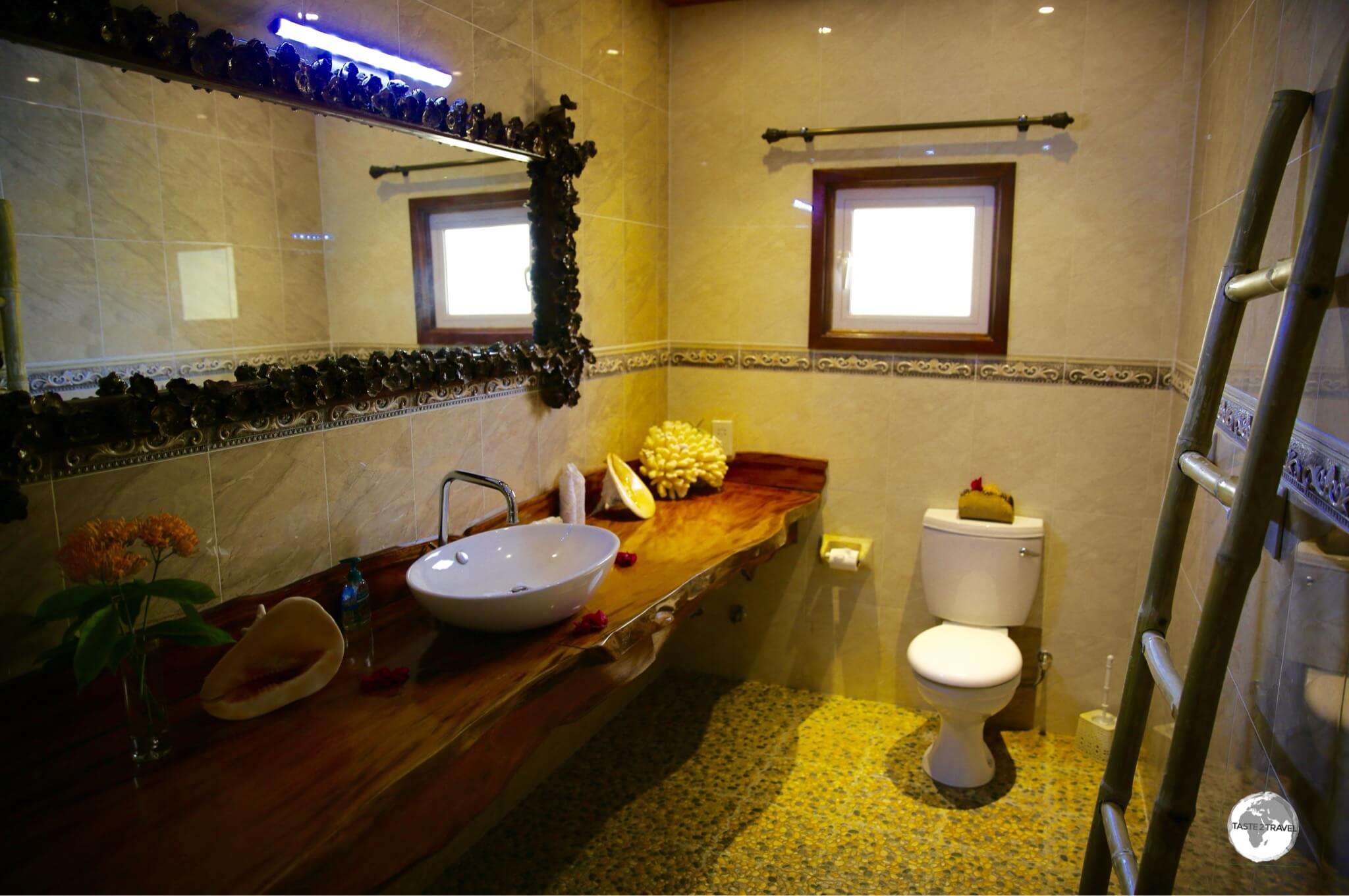 My beautiful bathroom at Elje Villa.