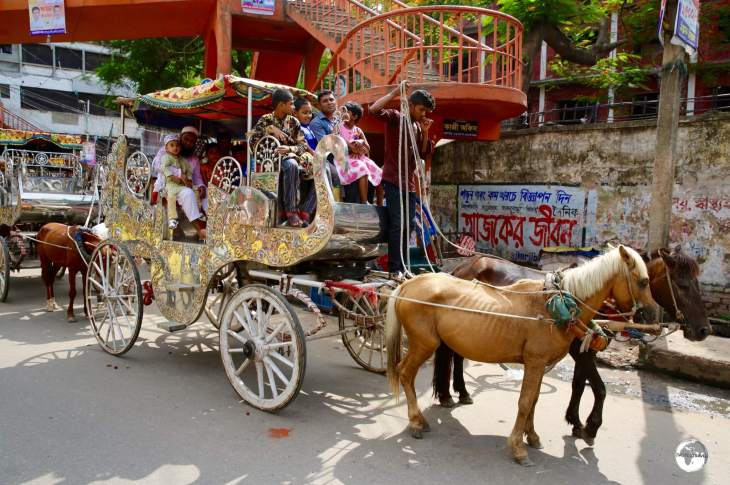 The streets of Dhaka were once home to hundreds of horse-drawn carriages.