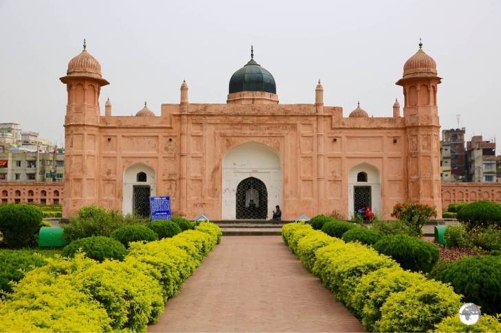 Lalbagh Fort is one of the main attractions in Dhaka.