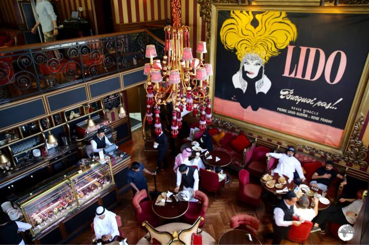 The highly popular Cafe Lilou offer three branches in Manama.