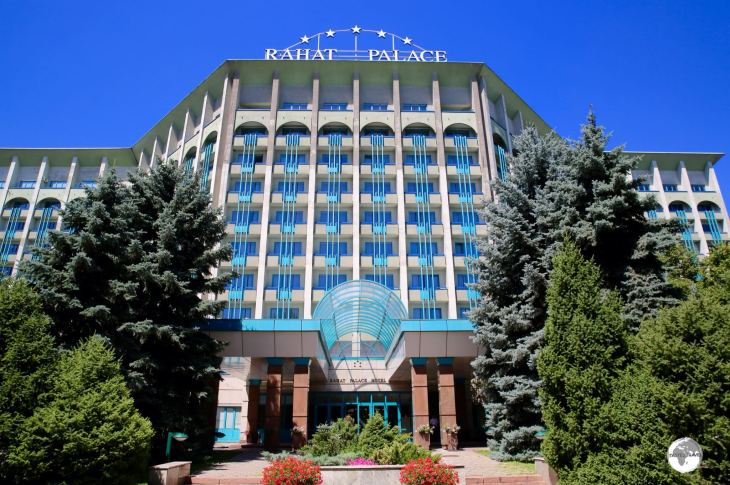 My hotel of choice in Almaty, the wonderful Rahat Palace Hotel, was originally opened as the Hyatt Regency Almaty.