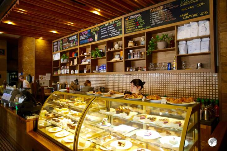 Cafe Nedelka offers amazing coffee, the freshest of cakes and a menu full of options for breakfast, lunch and dinner.