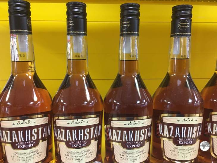 Kazakhstan Cognac sells for just a few dollars a bottle in most supermarkets.