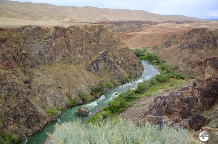 A panoramic view of Black Canyon.