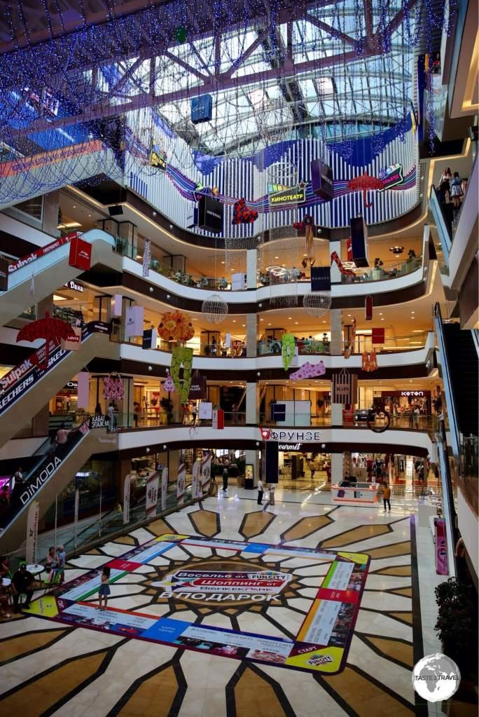 Bishkek Park mall offers the best shopping in Bishkek.
