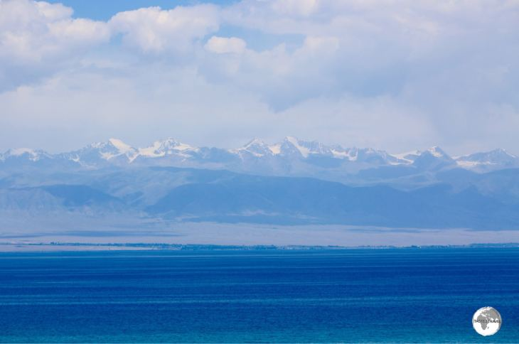 Always resplendent in dazzling blue, lake Issyk-Kul is the seventh deepest, and tenth largest, lake in the world.