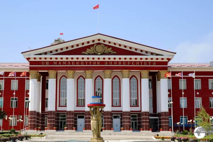 Municipal building in Osh.