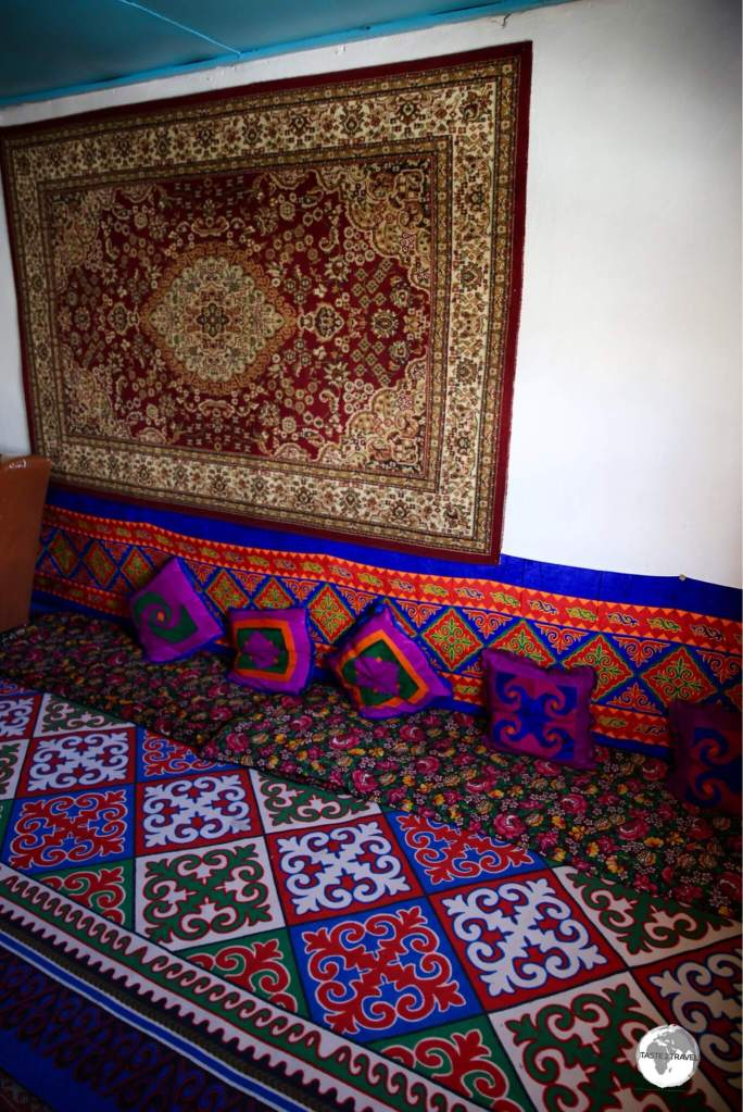 My cosy room at Homestay Aigerim.