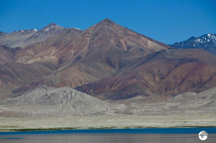 No shortage of spectacular mountain scenery along the Pamir highway.