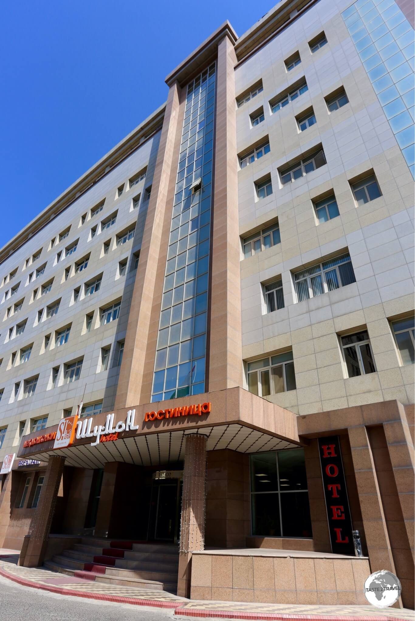 The Shumon hotel in Dushanbe is conveniently located downtown.