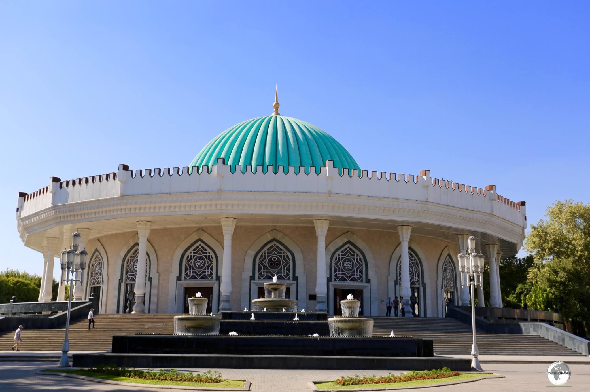 The Amir Timur Museum in Tashkent.