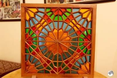Step 5: Enclose all the pieces inside a wooden frame. No nails, no glue.