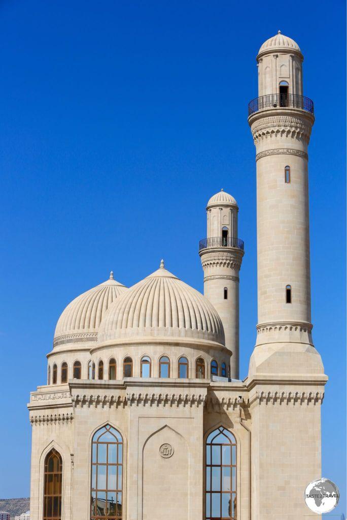 The modern incarnation of the Bibi-Heybat Mosque.
