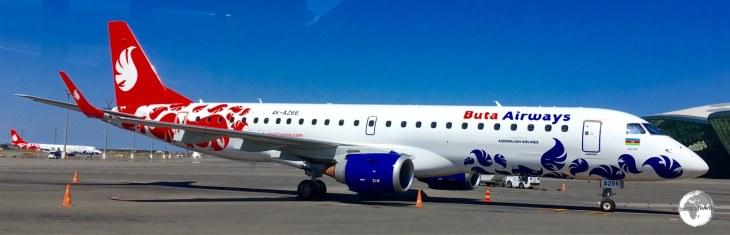 Buta Airways at Heydar Aliyev International Airport.