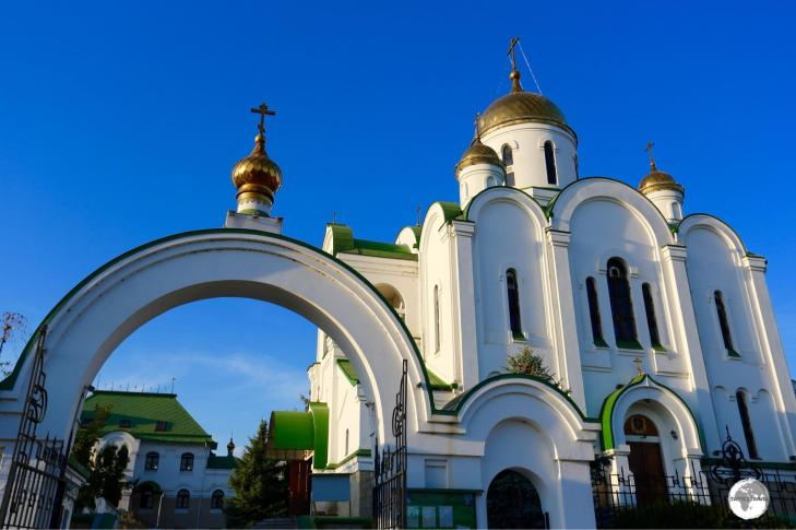 A recent addition to the city, the Russian-orthodox 'Church of the Nativity' was completed in 1999.
