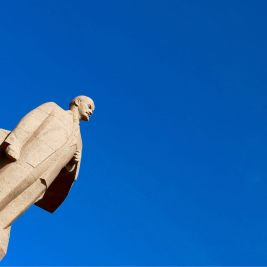 Lenin Statue in Tiraspol.