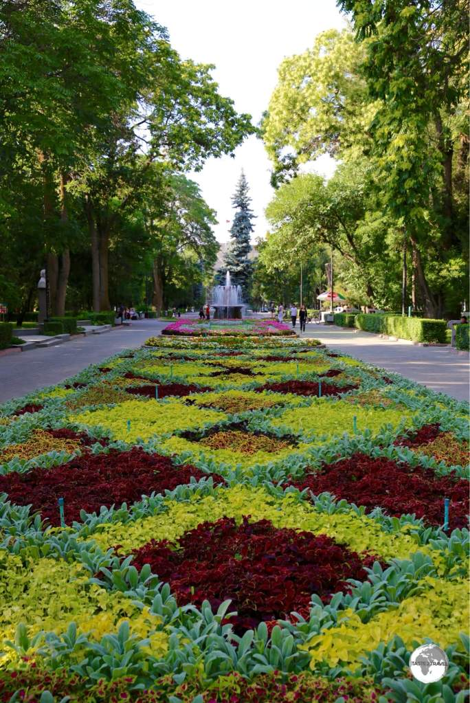 Bishkek is a city of parks.