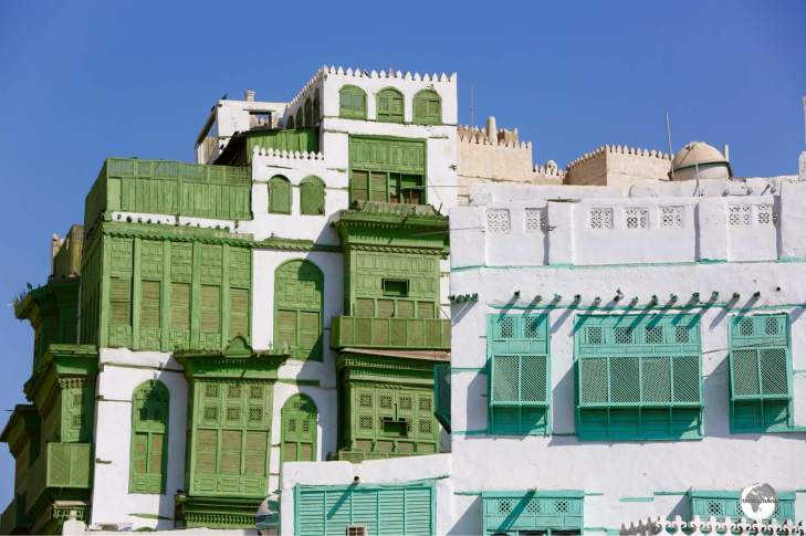 The historic old town of Jeddah, the Al Balad district, is registered as a UNESCO World Heritage site and is one of many highlights of Saudi Arabia.