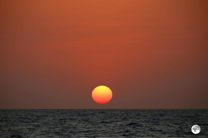 Stunning, daily sunsets over the Red Sea are guaranteed from the Corniche in Jeddah.