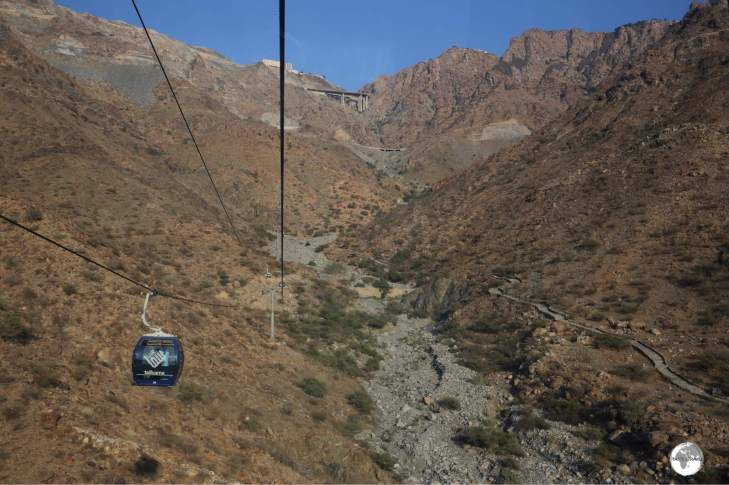 At 4.5 km in length, the Taif Cable car is the longest in the Middle East.