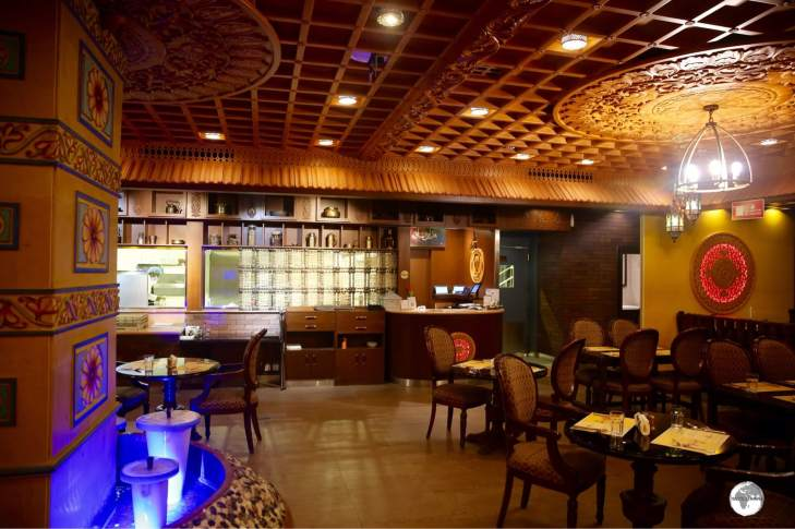 The Shikara restaurant in Riyadh offers delectable Indian cuisine.
