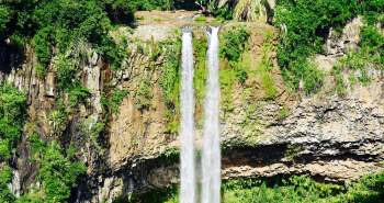 Chamarel Waterfall, a highlight of Mauritius.