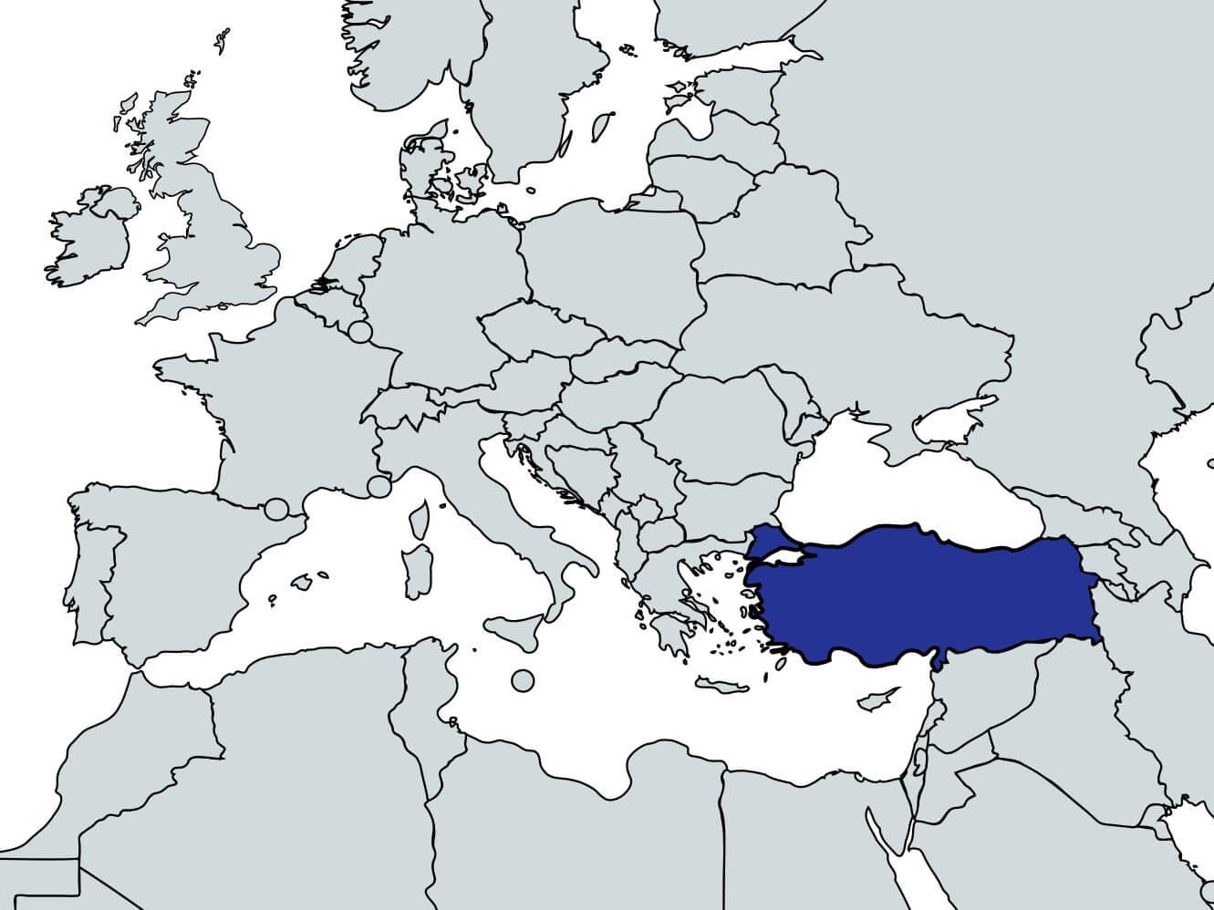Travel Quiz 18: Which Country? Turkey